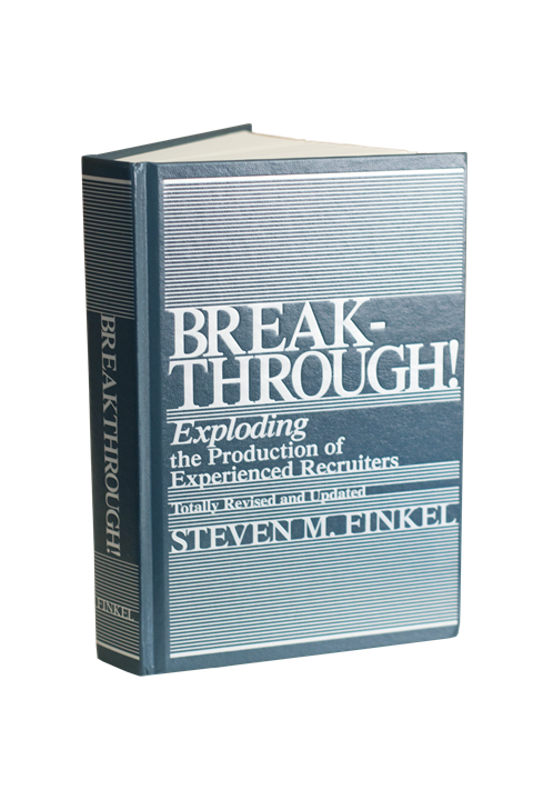 Breakthrough! Exploding the Production of Experienced Recruiters  eBook Format!!!